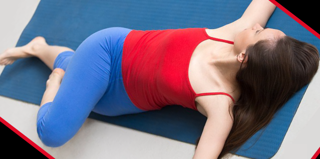 2 Knee Spinal Twist Pose