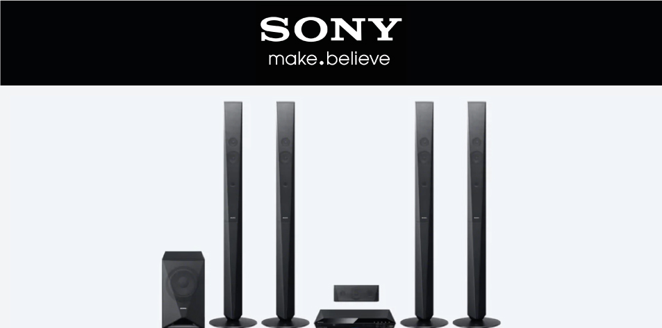 Sony Wireless Home Theater System