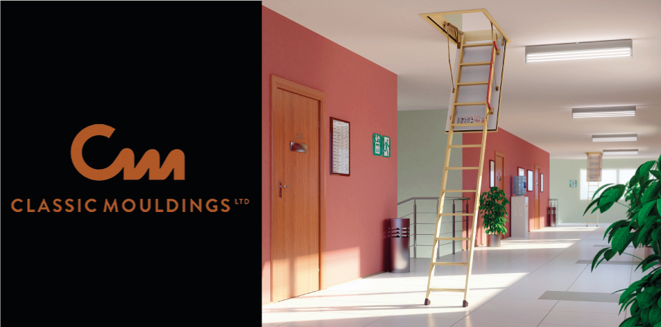 Classic Mouldings attic space