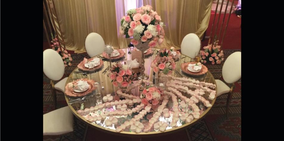 J.K. Florists Elite affair