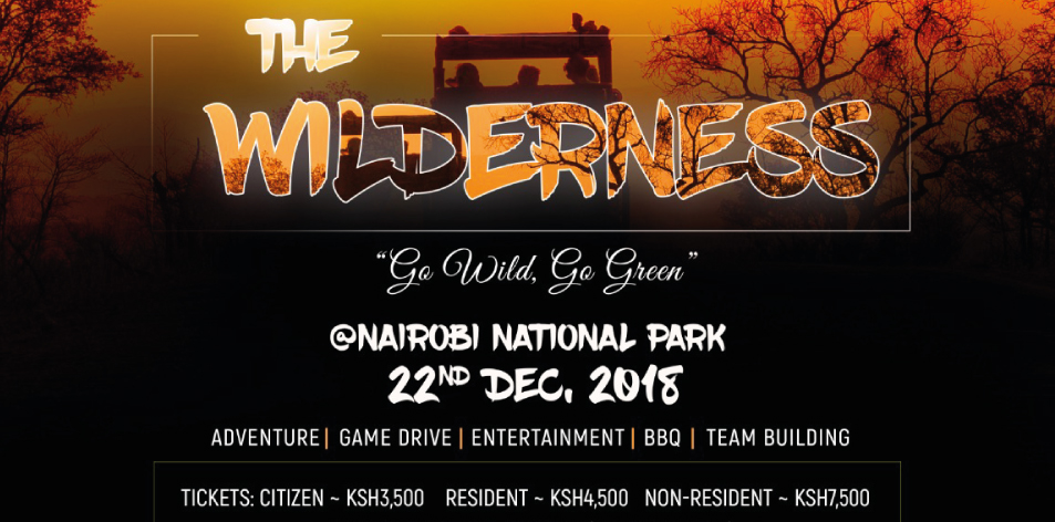Save The Date: The Wilderness On The 22nd Of December 2018!