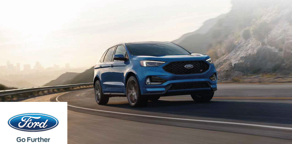 The New 2019 Ford Edge ST