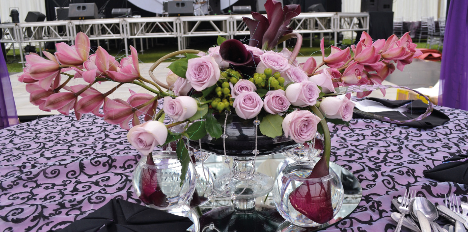 It's All About Flowers & Glass By J.K. Florists