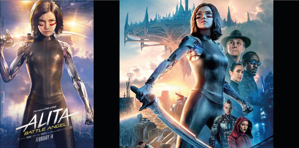 Alita The Battle Angle 3D Anga Imax