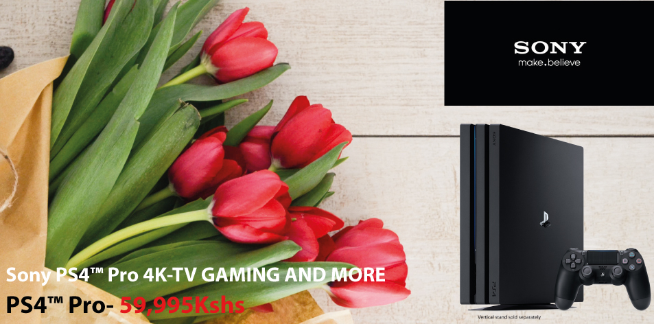 Sony PS4™ Pro 4K-TV GAMING AND MORE- A Super Gift For Your Super Valentine