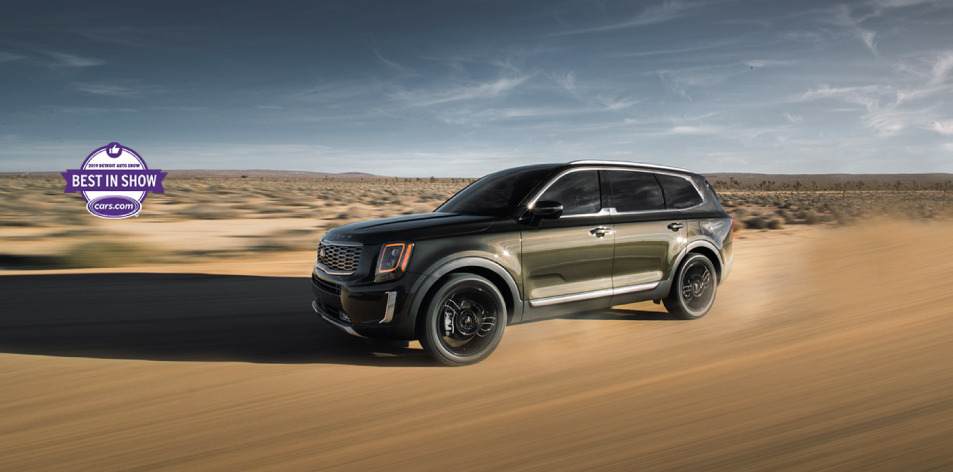 H&S Magazine Car Of The Week Issue 50: AWD SUV Exterior | 2020 Kia Telluride