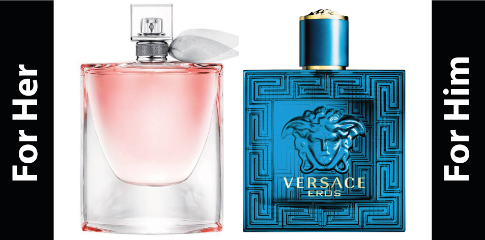 H&S Recommended Perfumes Of The Week Issue 51, For Him & Her- Versace & Lancome