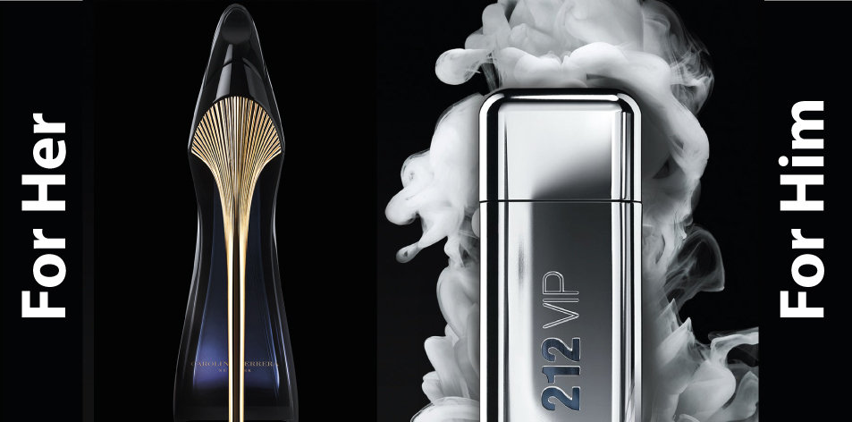 H&S Recommended Perfumes Of The Week Issue 52, For Him & Her- Carolina Herrera