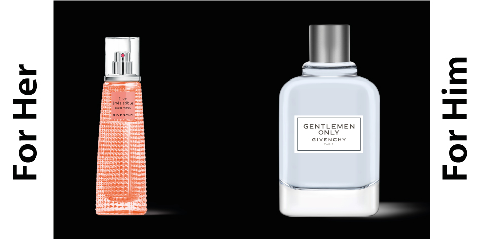 H&S Recommended Perfumes Of The Week Issue 53, For Him & Her- GIVENCHY