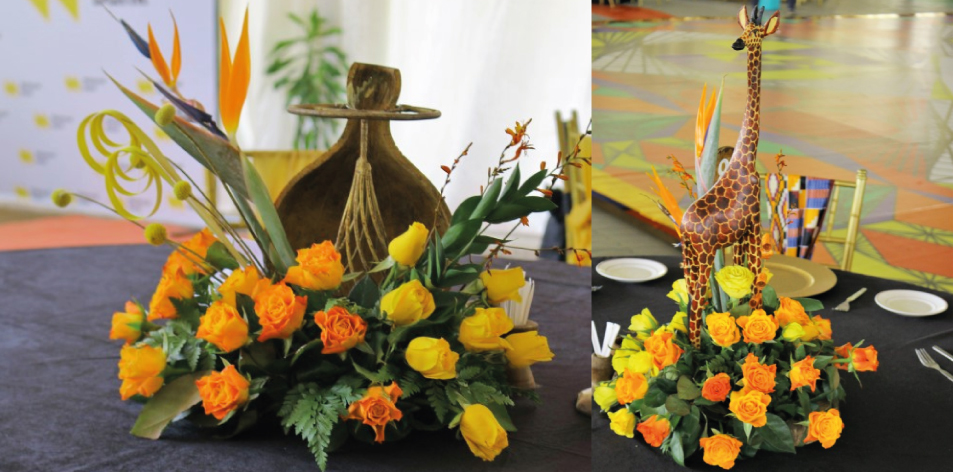 The African Sunrise - By J.K. Florists