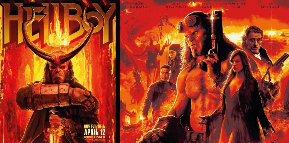 ANGA IMAX- 12th-18th April 2019- Hellboy 3D