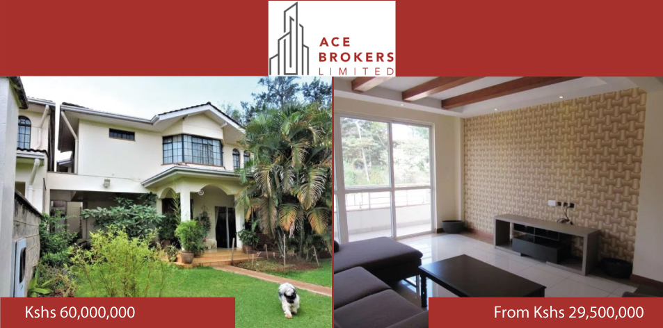 Ace Brokers Limited- Residential Properties In Parklands & Westlands For Sale!!