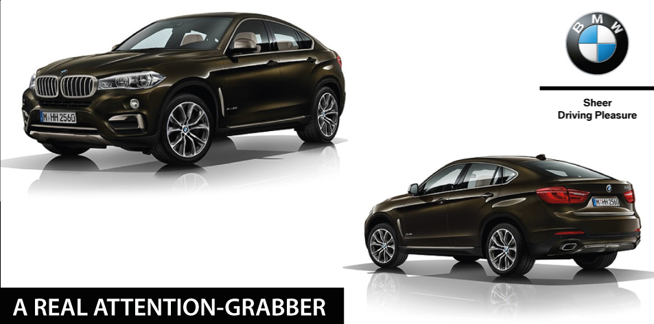 BMW X6│ A REAL ATTENTION-GRABBER