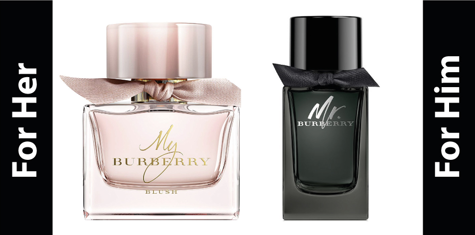 H&S Recommended Perfumes Of The Week Issue 55, For Him & For Her BURBERRY