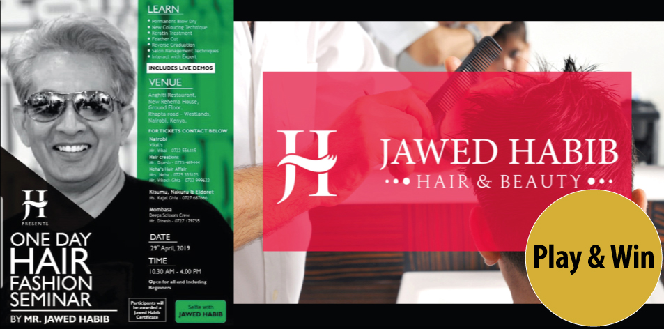 Jawed Habib's Hair Seminar-29th Of April- We Have 2 Tickets To Give Away!