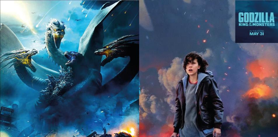 ANGA IMAX- 31st May-6th June 2019- Godzilla: King of the Monsters 3D