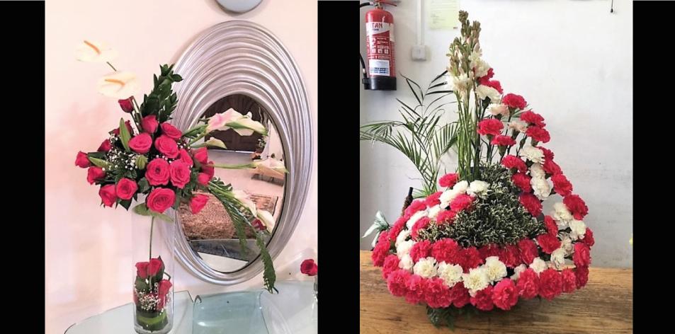 Amazing Floral Centrepieces By J.K. Florists!