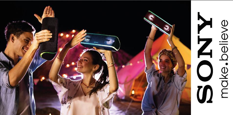Sony EXTRA BASS™ Portable BLUETOOTH® Speakers- Be Spoilt For Choice- Sony XB21, XB31, XB41 EXTRA BASS™