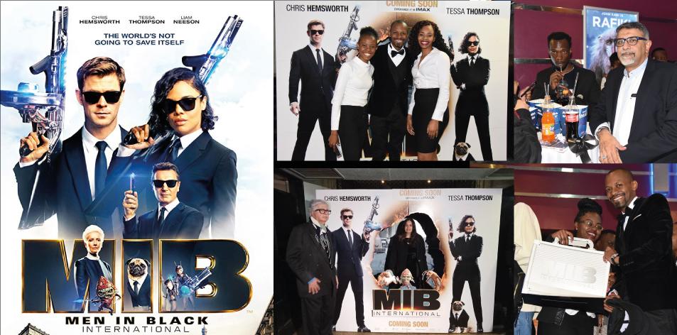 Recap Of The Premier Of Men In Black-International 3D- IMAX ANGA Cinema 12th June 2019
