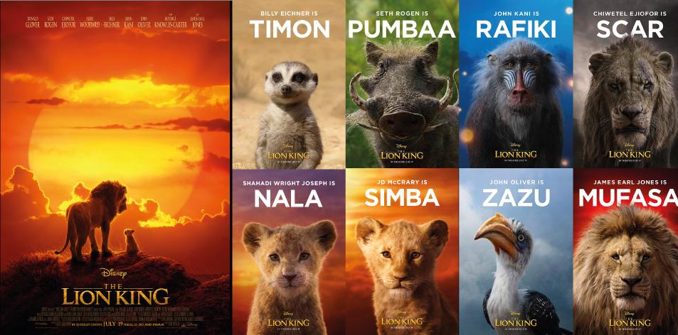 ANGA IMAX- 12th-18th July 2019- THE LION KING 3D