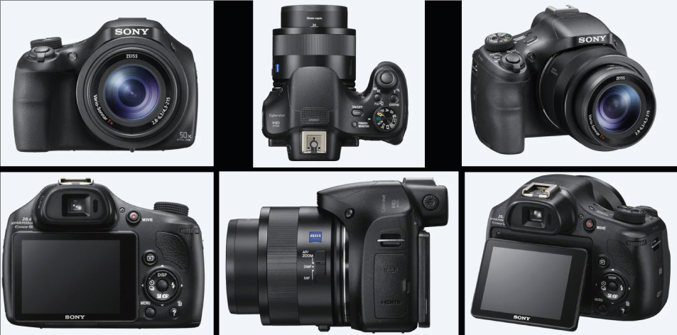 Sony HX400V Compact Camera with 50x Optical Zoom- Zoom To The Top