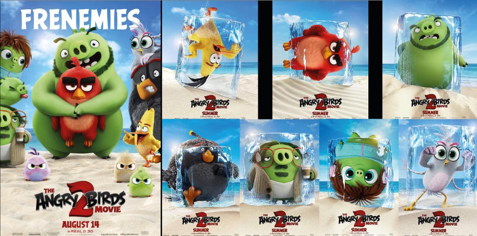 ANGA DIAMOND 9th-15th Aug 2019- Diamond Plaza II- The Angry Birds Movie 2 3D
