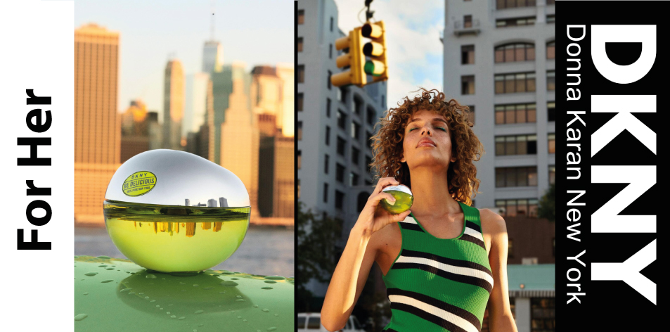 H&S Recommended Fragrance of The Week- For Her- DKNY- Be Delicious 100ML, EDP
