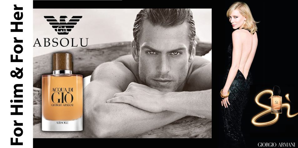 H&S Recommended Fragrance of The Week- For Him & For Her- Giorgio Armani