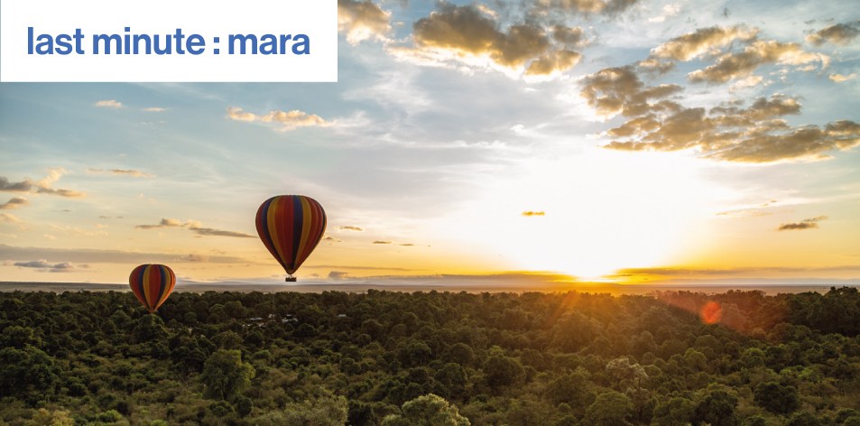 Last minute : mara – New Kenyan Travel Site Makes Luxury Mara lodges More Accessible