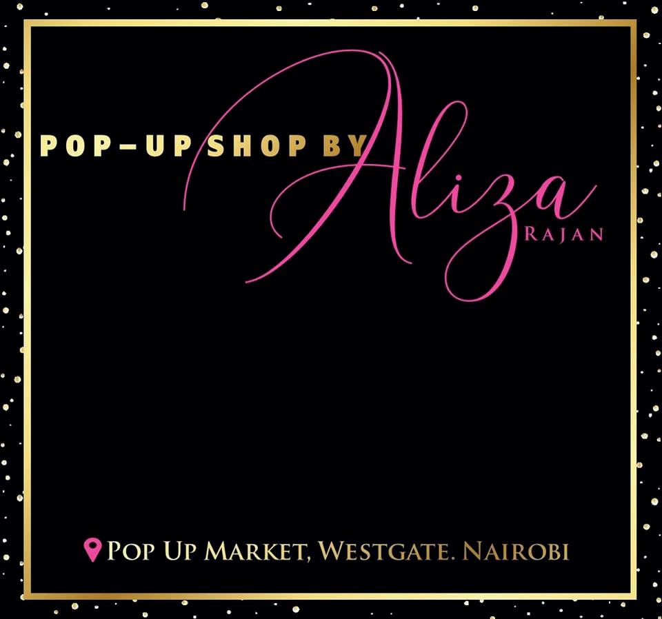 Pop up shop by Aliza Rajan