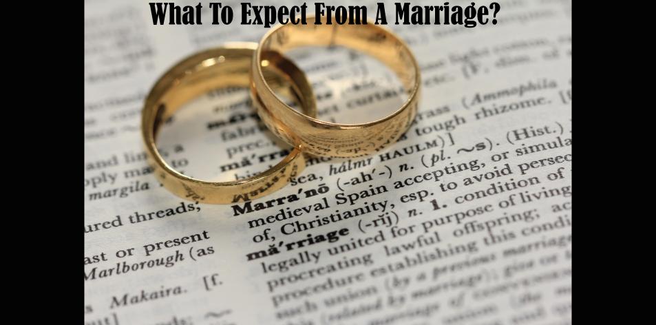 marital expectations