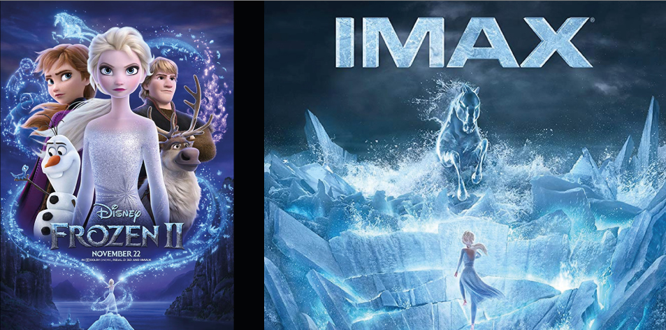 ANGA IMAX- 22nd-28th Nov 2019- FROZEN 2