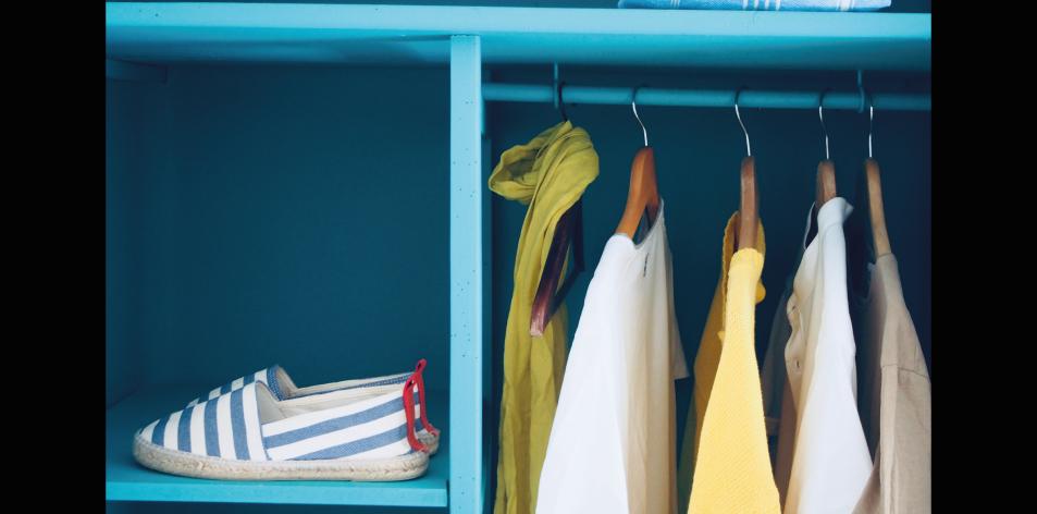 closet smelling amazing