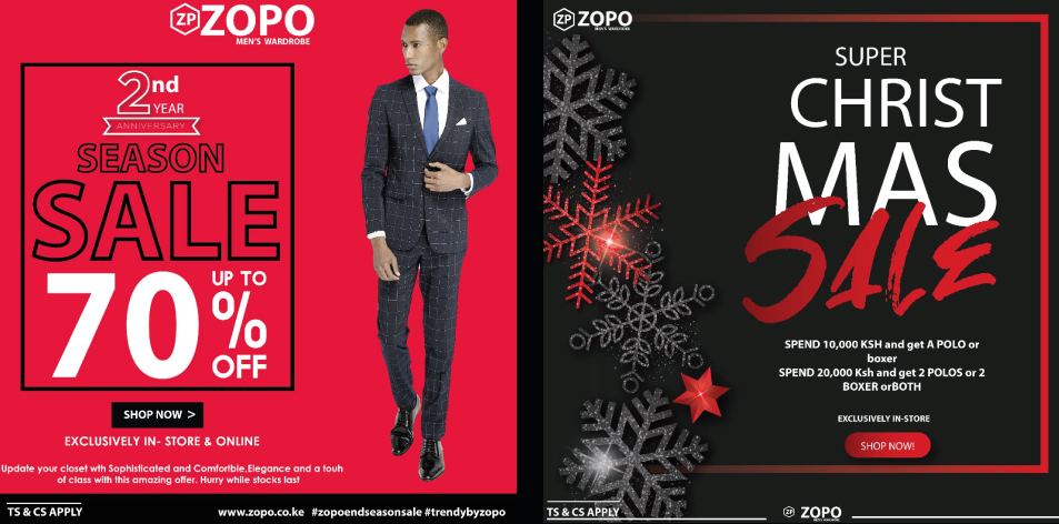 ZOPO- Men's Wardrobe- Christmas Sale 2019
