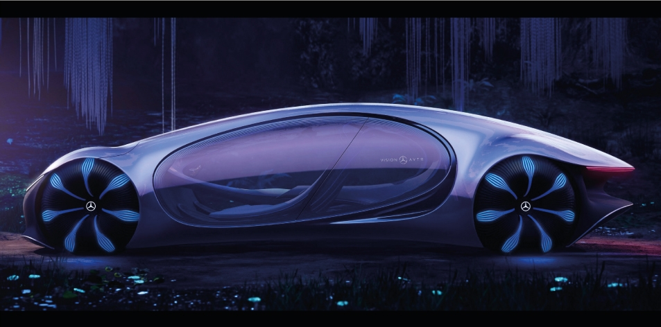 H&S Magazine Vehicle Of The Week- Mercedes-Benz VISION AVTR: The Vision of Tomorrow's Next Big Thing