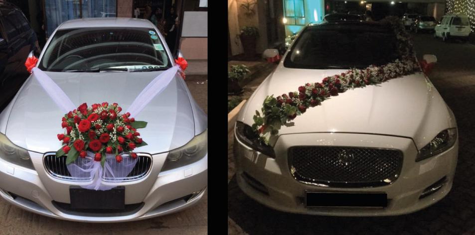 best wedding car decorators in Nairobi