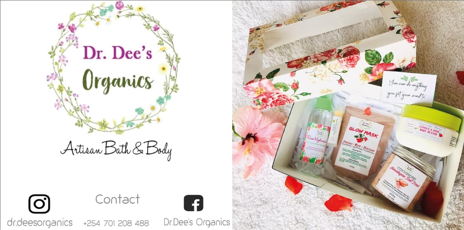 Valentines Day Dr.Dee's Organics Handmade Aromatherapy Spa Gift For Her