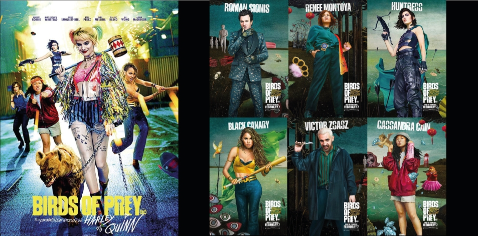 ANGA IMAX- 7th-13th Feb 2020- Birds of Prey (And The Fantabulous Emancipation Of One Harley Quinn)