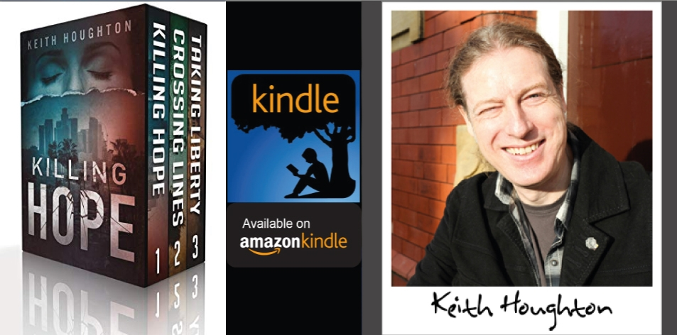 Amazon Kindle- H&S Magazine's Recommended Book Of The Week- Keith Houghton- Gabe Quinn Thrillers: Books 1, 2 & 3 Box Set- Kindle Edition