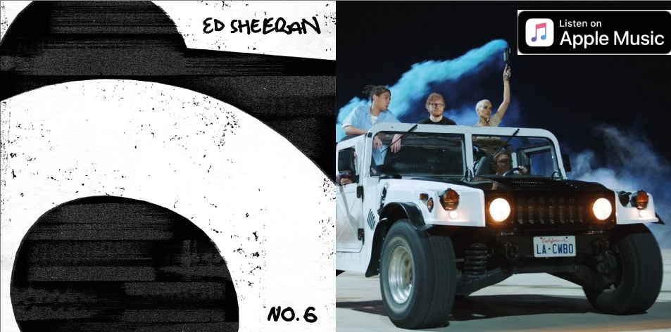 Apple Music- H&S Magazine's Best Artist Of The Week- Ed Sheeran- No.6 Collaborations Project