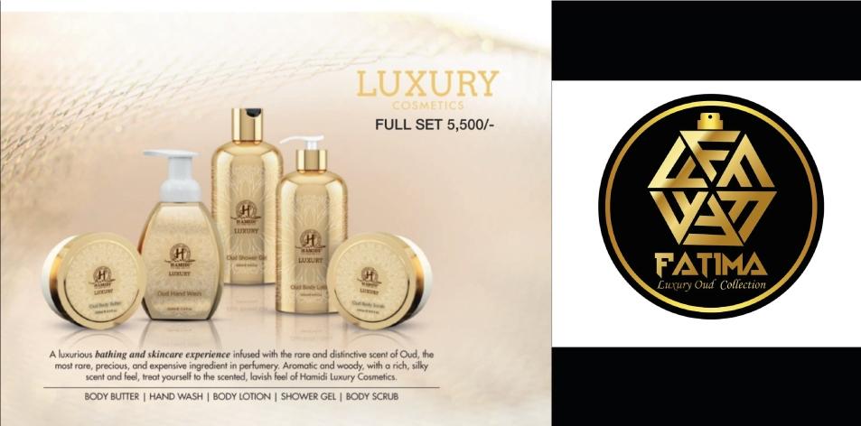 FATIMA LUXURY OUD COLLECTION- RAMADHAAN OFFER 10% Off On The Hamidi Luxury Oud Set