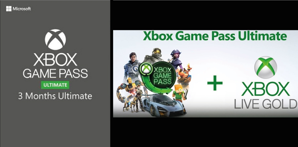 Xbox Game Pass Ultimate 3 Months Xbox One GLOBAL- Access To 100+ Games, Buy Digital Code Now To Play In Kenya