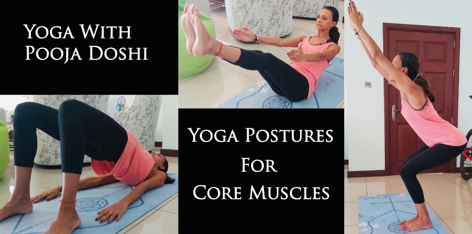 yoga postures for core muscles