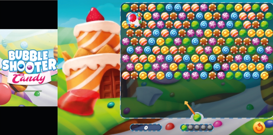 H&S Kill Time- Online Game Of The Week- Bubble Shooter Candy