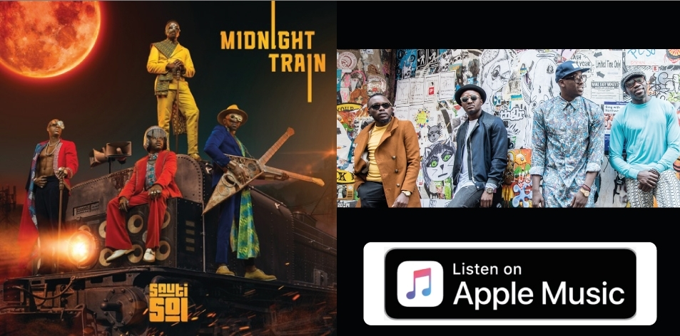 Apple Music- H&S Magazine's Best Artist Of The Week- Sauti Sol, Album: Midnight Train