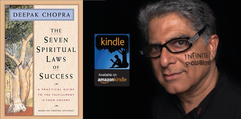 Amazon Kindle- H&S Magazine's Recommended Book Of The Week- Deepak Chopra- The Seven Spiritual Laws of Success: A Practical Guide to the Fulfillment of Your Dreams