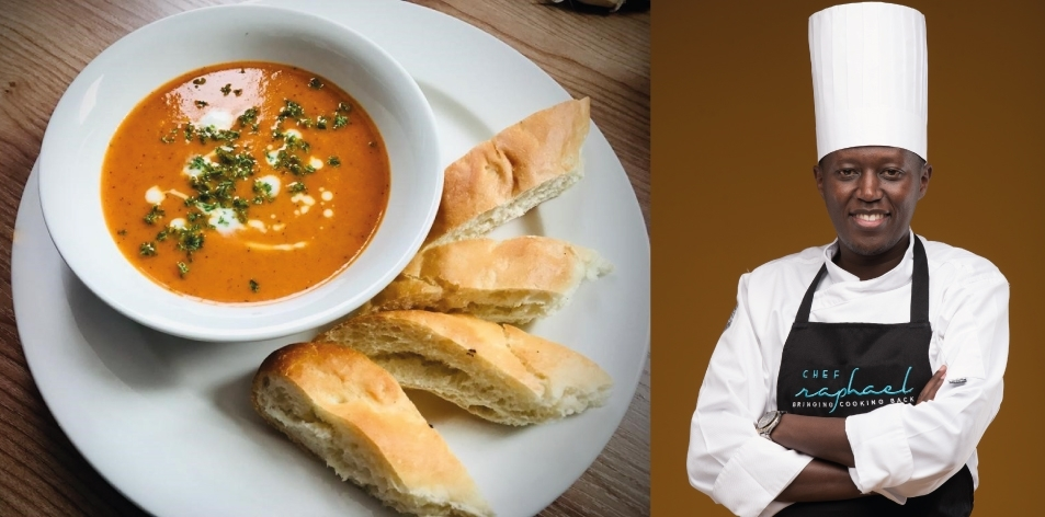 Roasted Pepper & Onion Soup