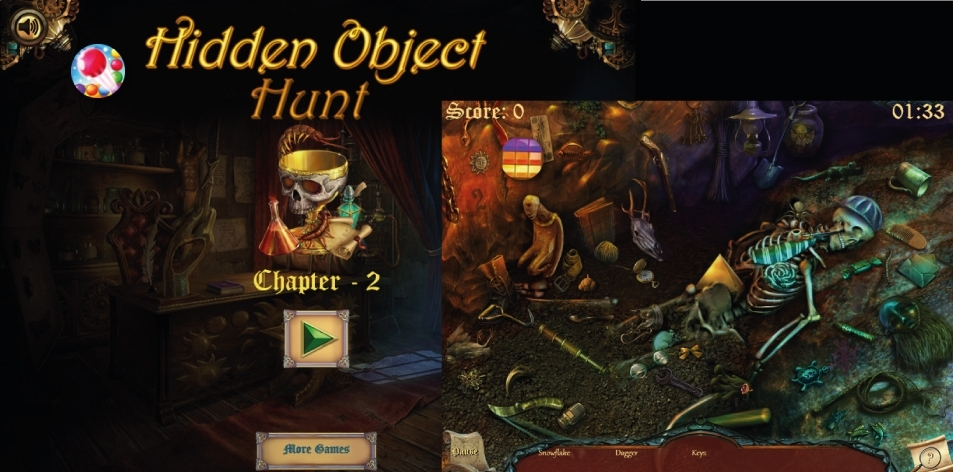 H&S Kill Time- Online Game Of The Week- Hidden Object Hunt