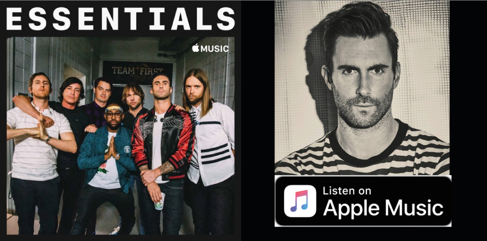 Apple Music- H&S Magazine's Best Artist Of The Week- Maroon 5- Essentials