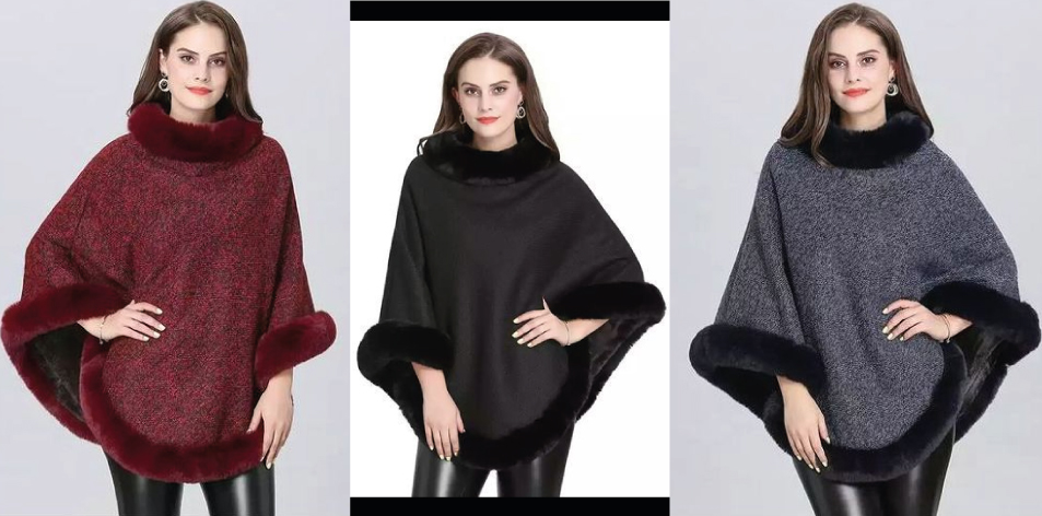 Fashionable Winter Capes For Women
